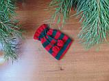 Аксесуар для новорічного подарунка,чохол для подарунка,мішечок для подарунка, фото 2