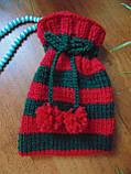 Аксесуар для новорічного подарунка,чохол для подарунка,мішечок для подарунка, фото 4
