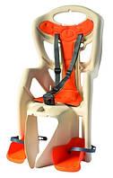 Велокрісло Bellelli Pepe на багажник Бежеве