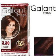 Стойкая крем-краска для волос Galant Image тон 3.30 Каштановый интенсивный