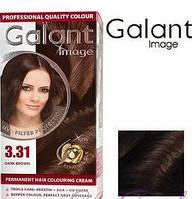 Стойкая крем-краска для волос Galant Image тон 3.31 Темно-коричневый
