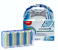 Сменные лезвия Wilkinson Sword HYDRO 5 Groomer / Power Select HYDRO 5 Powers, в упаковке 4