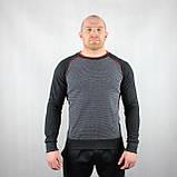 Теплый мужской свитер черного цвета, фото 2