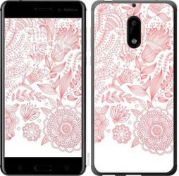 """Чехол на Nokia 6 Узор v19 """"3028c-898-328"""""""