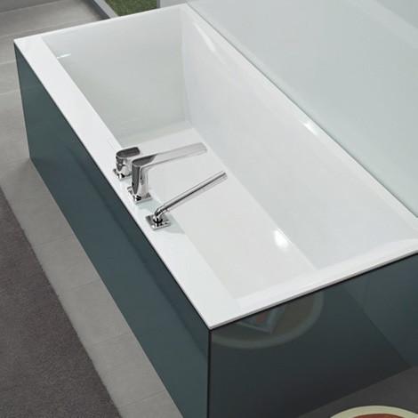 Квариловая ванна Villeroy & Boch Squaro Edge 12 Duo  180х80
