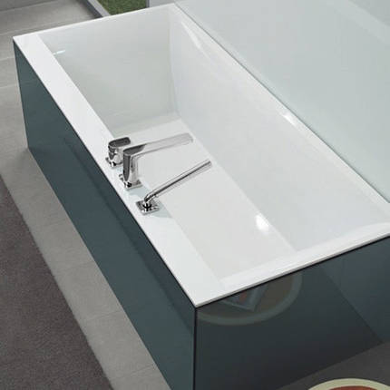 Квариловая ванна Villeroy & Boch Squaro Edge 12 Duo  180х80, фото 2