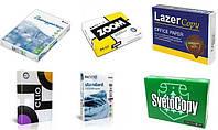 Бумага А4 500 листов 80г/м2 офисная для принтера, ксерокса, факса. Maestro Clio Снегурочка Zoom Snowhite