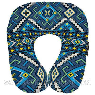 Подушка рогалик Український Орнамент