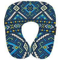 Подушка рогалик Украинский Орнамент, фото 1