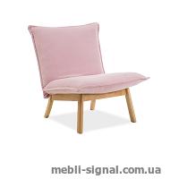 Мягкое кресло Bollo 1 розовое (Signal)