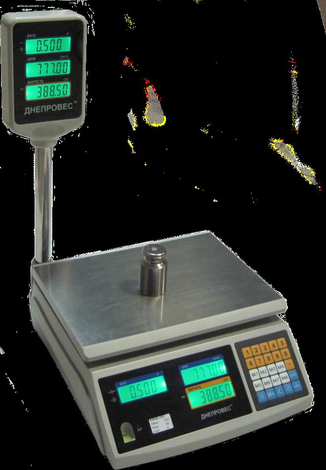 Весы торговые F902H-3EС