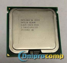 Intel XEON X3323 2.5 GHz/6M/1333MHz + адаптер 775