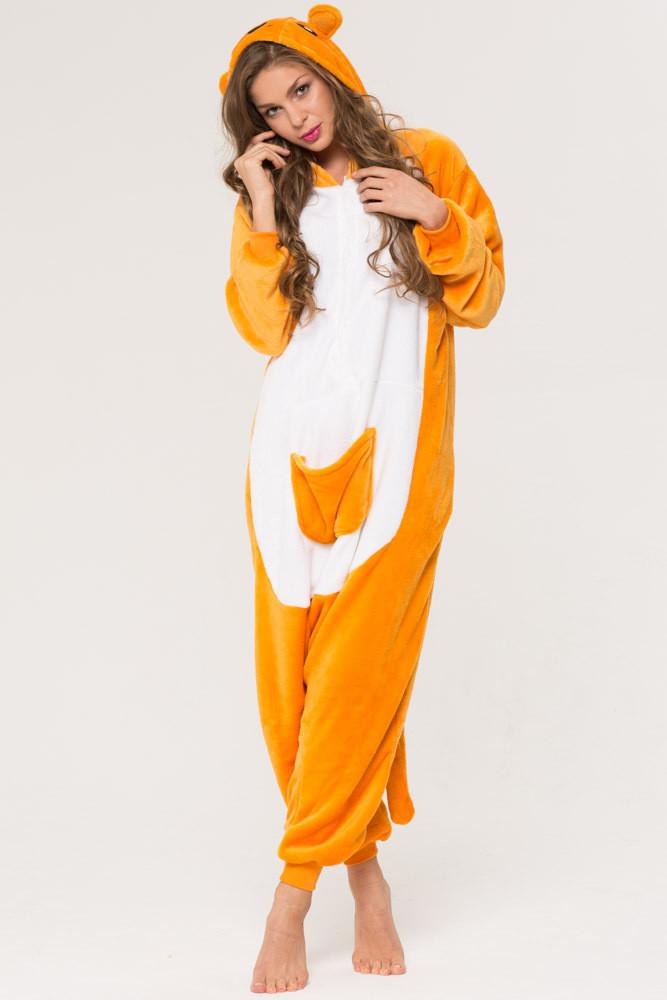 Женская пижама кигуруми кенгуру krd0050 9d8c302bbee9b