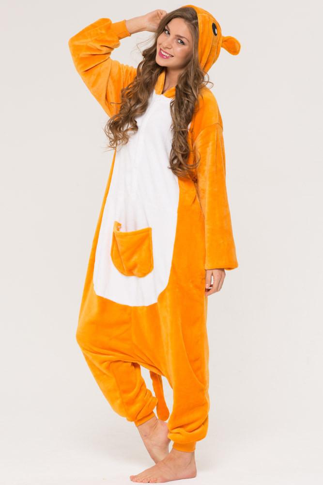 Купить Женскую пижаму кигуруми кенгуру krd0050 недорого в Украине и ... 31caa2a3d54fe
