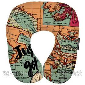 Подушка для подорожей Карта Just go!