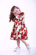 Детское платье для девочек, 8ROZY р. 110 см Розы