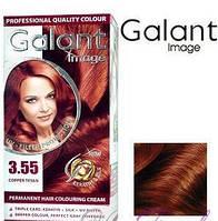 Стойкая крем-краска для волос Galant Image тон 3.55 Медный тициан, фото 1