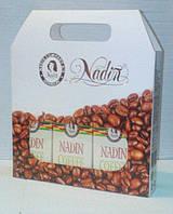 Подарочный набор Сумочка с кофе №1