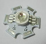 Мощный светодиод 3Ватт RGB, фото 4