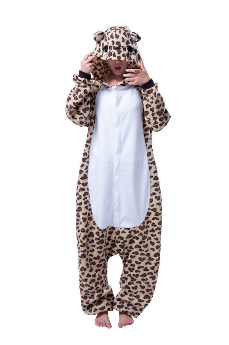 Пижама кигуруми леопард krd0056