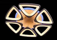 Потолочная LED-люстра с диммером и подсветкой 110W, фото 1