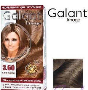 Стойкая крем-краска для волос Galant Image тон 3.60 Средне русый
