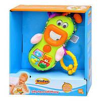 Развивающая игрушка Мобильный телефон - подвеска WinFun 0608 NL