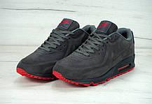 Зимові чоловічі кросівки Nike Air Max 90VT FUR Winter Dark Gray, фото 3
