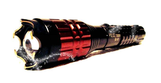 Новинка 2015 года! Мощный электрошокер X5 Flashlight, светодиодный фонарь, 50000 кВ, аккумулятор, фото 2