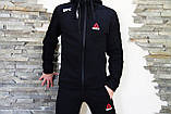 Мужской спортивный  костюм Reebok Рибок теплый   штаны   олимпийка  (реплика), фото 3