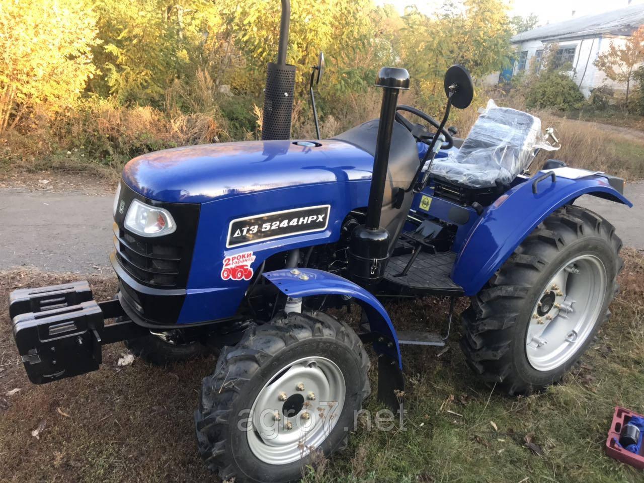Трактор с доставкой ДТЗ 5244НPX (4х4, 24 л.с., ГУР)