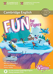 Fun for Flyers 4th Edition Student's Book with Online Activities, Audio and Home Fun Booklet