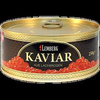 Икра Красная Горбуша Лососевая Лемберг Lemberg 250 гр