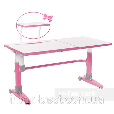 Парта-трансформер для школьника FunDesk Ballare Pink, фото 2