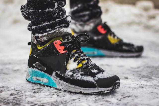 Зимние кроссовки и кеды