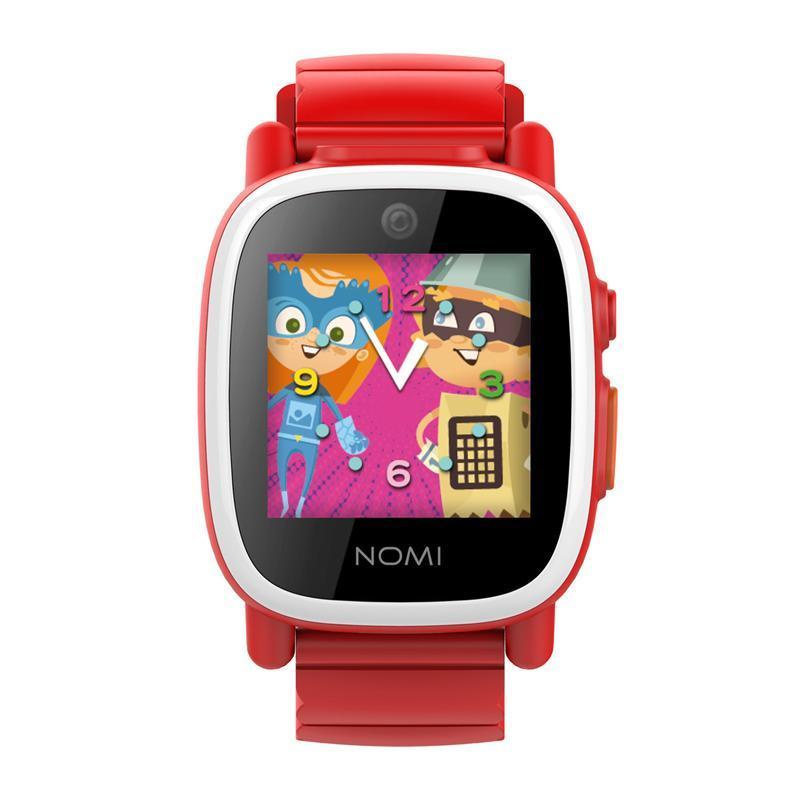 Детские смарт-часы Nomi Kids Heroes W2 Red (340944)