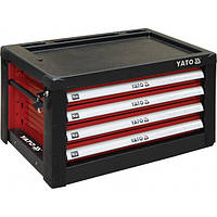Шкаф для мастерской с 4-мя ящиками 690 х 465 х 400 мм, YATO YT-09152