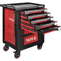 Шкаф с инструментами 95,8 х 76,6 х 46,5 см, 189 элементов, 14 лотков YATO YT-55292