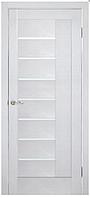 Двери ламинированные ПВХ Фелиция со стеклом сатин