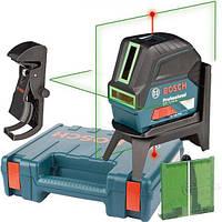 Лазерный нивелир Bosch GCL 2-15 G + RM1 + BM3