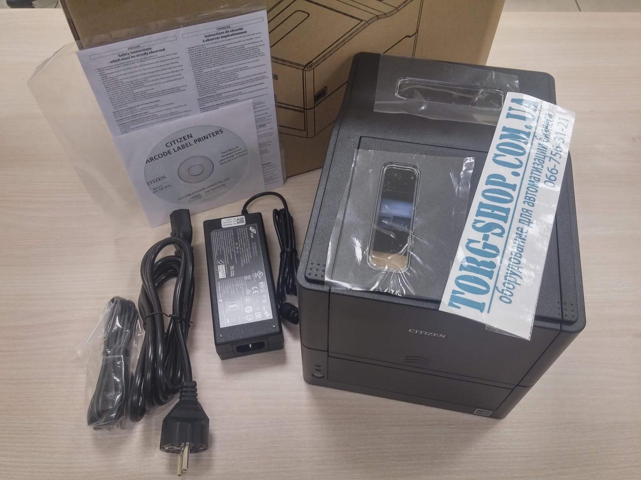 Термотрансферный принтер этикеток  Citizen CL-E321
