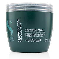 Маска для реконструкции волос ALFAPARF Semi Di Lino Reconstruction Reparative Mask 500 мл