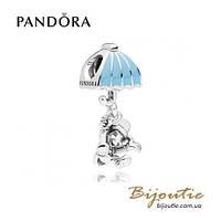 Pandora шарм-подвеска DISNEY СВЕРЧОК ДЖИМИНИ #797492EN41 серебро 925 Пандора оригинал