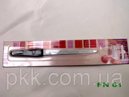 61NF Пилочка больш.резин.ручка  La Rosa