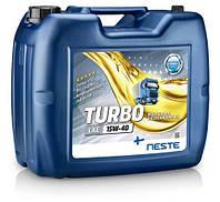 Масло моторное минеральное Neste Turbo LXE 15W40 API CI-4,CH-4/SL (20л), фото 1