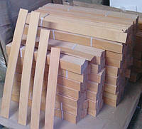Ламели буковые 600-900мм ( 53мм*8мм ) 1сорт, фото 1