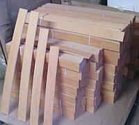 Ламели буковые 600-900мм ( 53мм*8мм ) 1сорт