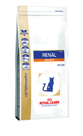 Корм для котов Royal Canin (Роял Канин) RENAL SELECT при хронической почечной недостаточности, 2 кг