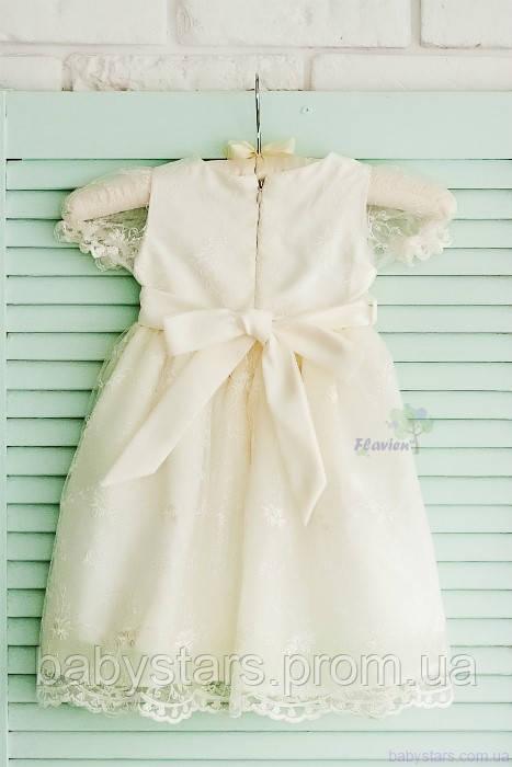 22a764eeb5d Купить Праздничное платье для девочки молочного цвета