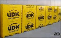 Газобетон, газобетонные блоки UDK D400